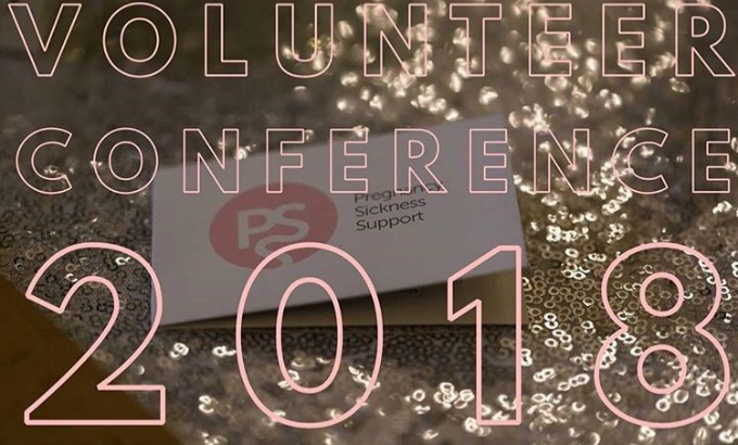 Pregnancy Sickness Support volunteers conference 2018