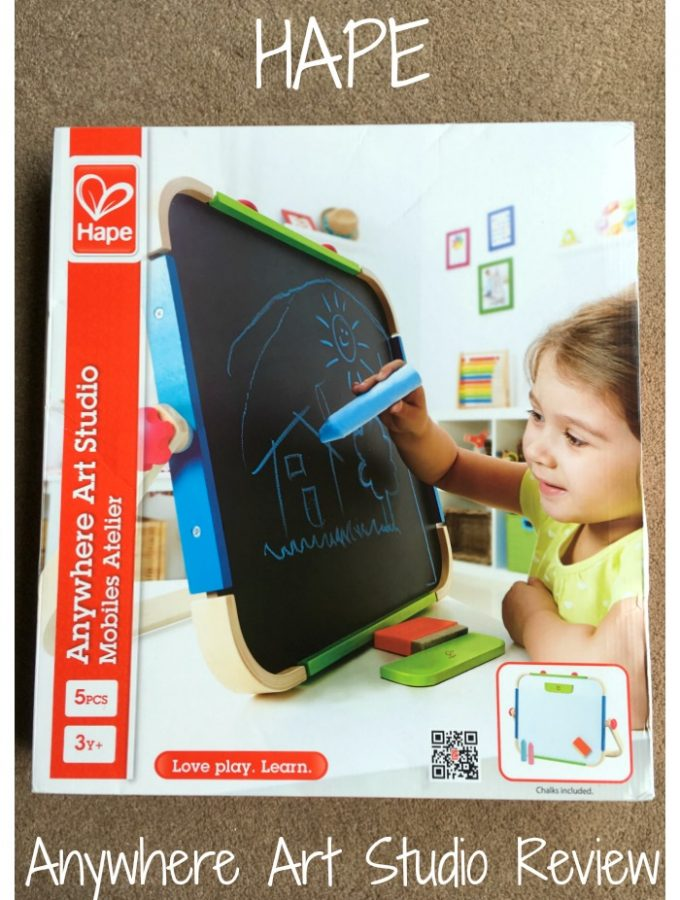 Hape Anywhere Art Studio Review