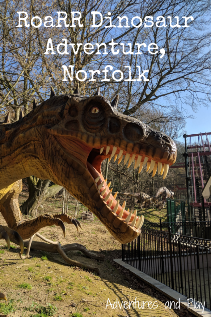 RoaRR Dinosaur Adventure review in Norfolk