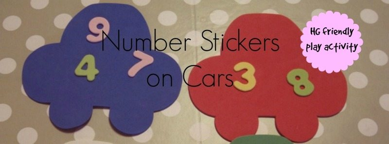 Adventures of Adam number stickers on cars
