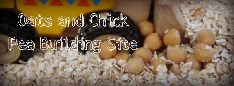 Adventures of Adam oats and chick peas building site