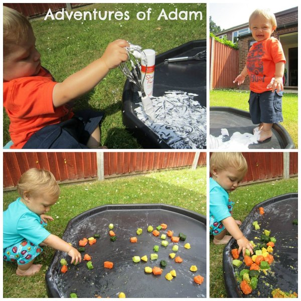 Adventures of Adam frozen vegetable tuff spot