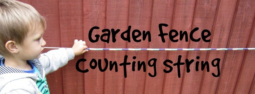 Adventures of Adam garden fence counting string