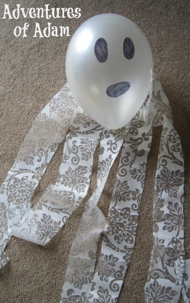 Adventures of Adam How to make a ghost balloon
