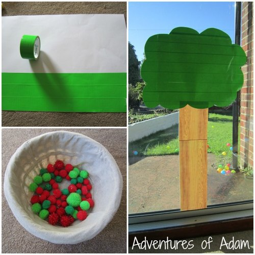 Adventures of Adam making the sticky apple tree