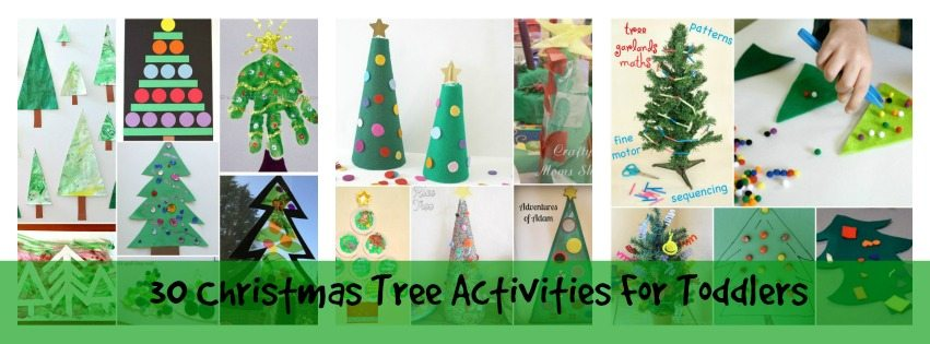 Adventures of Adam 30 Christmas Tree Activities for Toddlers