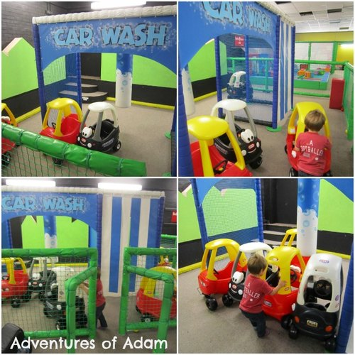 Adventures of Adam Play Stax Car wash