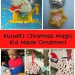 Adventures of Adam Russell's Christmas Magic Kid Made Ornament