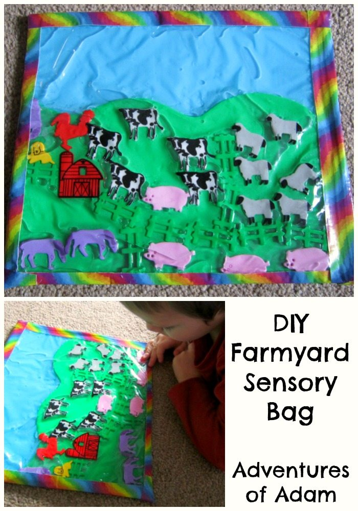 Adventures of Adam DIY Farmyard sensory bag