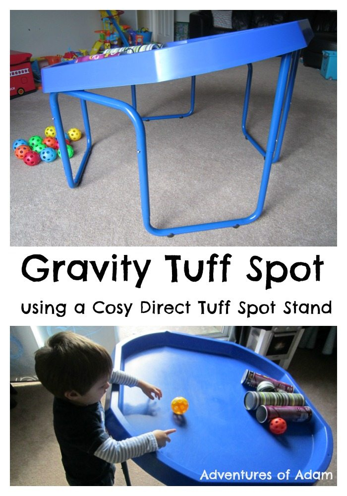 Adventures of Adam Gravity Tuff Spot using a Cosy Direct Tuff Spot Stand