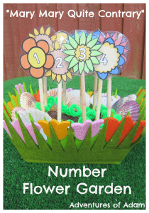 Adventures of Adam Mary Mary Quite Contrary Number Flower Garden