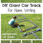 Adventures of Adam Giant Car Track For Name Writing