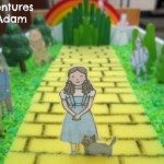 Adventures of Adam Follow the yellow brick road small world