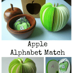 Adventures of Adam Apple Alphabet Match