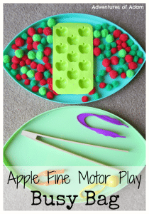 Adventures of Adam Apple Fine Motor Play Busy Bag