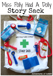 Miss Polly Had A Dolly Story Sack Adventures of Adam