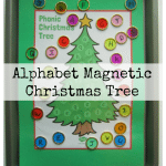 Alphabet Magnetic Christmas Tree