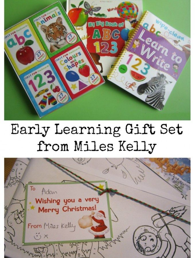 Early Learning Gift Set from Miles Kelly Adventures of Adam