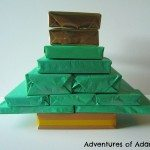 Mummy book advent for Christmas