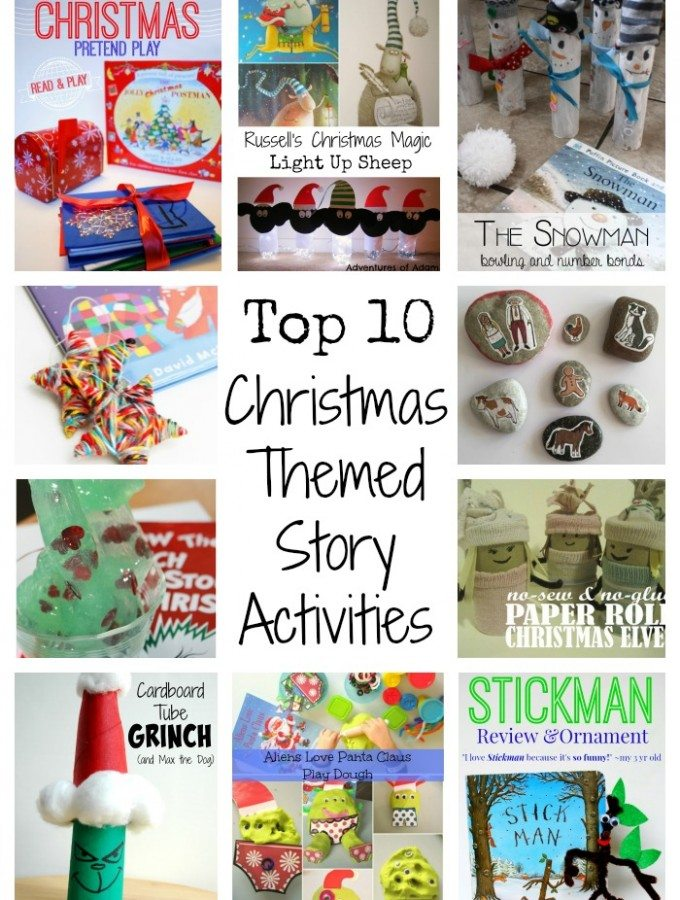 Top 10 Christmas Themed Story Activities