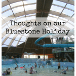 Thoughts on our Bluestone Holiday