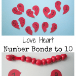 Love Heart Number Bonds to 10
