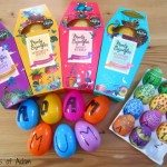 Adding letters to plastic Easter Eggs