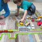 Orchard toys railway in action