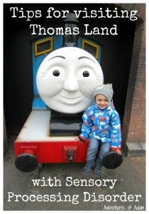 Top Tips for visiting Thomas Land with a child who has Sensory Processing Disorder