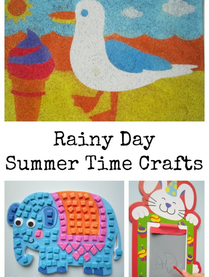 Rainy Day Summer Time Crafts