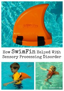 How SwimFin Helped With Sensory Processing Disorder