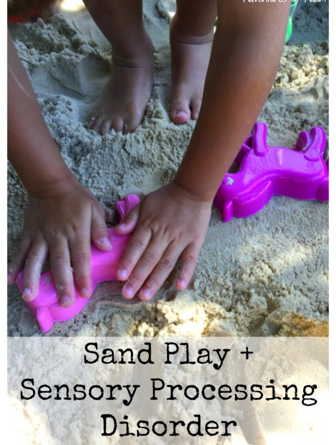 Sand Play and Sensory Processing Disorder