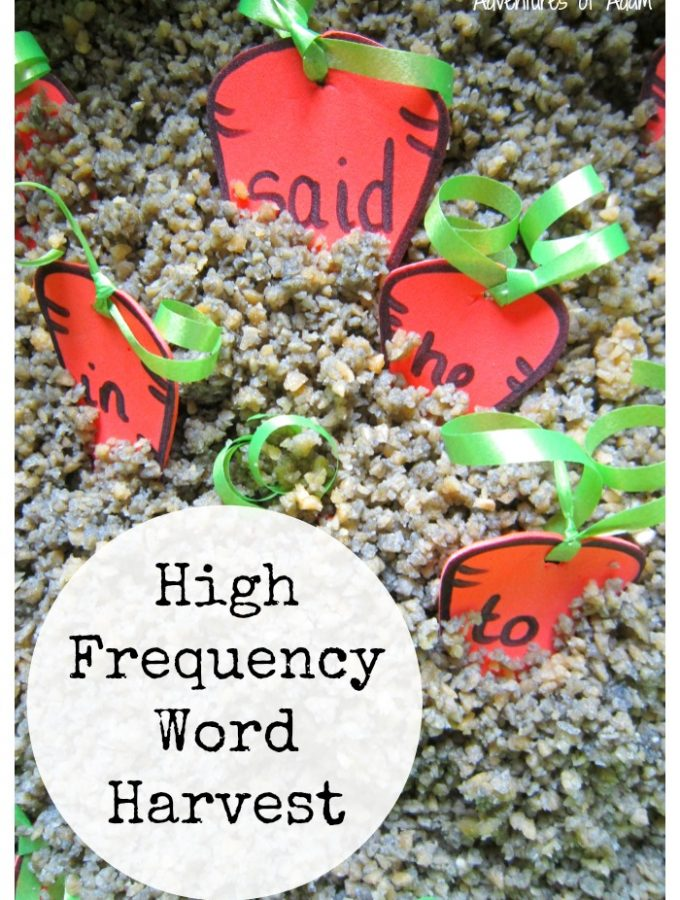 High Frequency Word Harvest