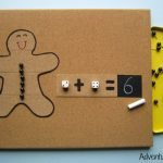 Simple addition with Gingerbread Man