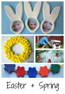 Ways to play with Easter and Spring