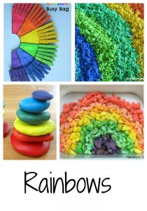 Ways to play with rainbows